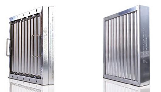 Filtre de aer realizate din inox sau aluminiu