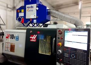 Filtrare vapori ulei strung CNC HAAS ST 10 Y