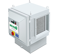 Sistem centralizat filtrare vapori ulei