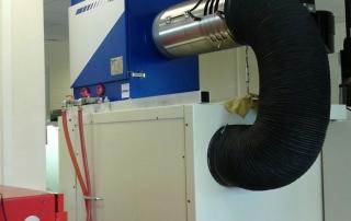 Filtrare aer industrial masini cnc