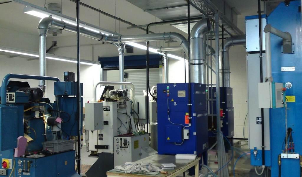 Sistem centralizat de filtrare aer