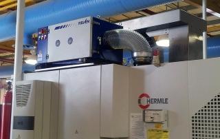 Filtrare aer industrial masini unelte cnc