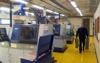 Filtrarea aerului industrial masini unelte CNC