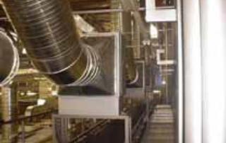 Filtrare aerosoli pe baza de apa pentru tubulatura