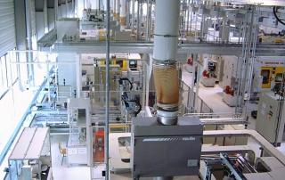 Purificatoare de aer pentru tubulatura RKV1