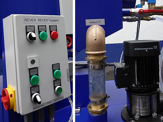 Sistem filtrare aer industrial emulsie ulei