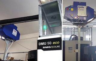 Sistem filtrare vapori ulei DMG DMU 50 Eco