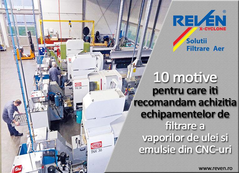 10 motive pentru care ai nevoie de echipamente filtrare aer