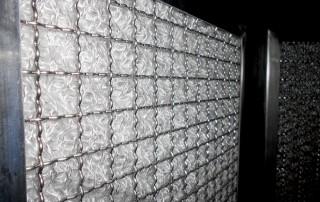 Aglomerator particule ulei din fibra de sticla si inox