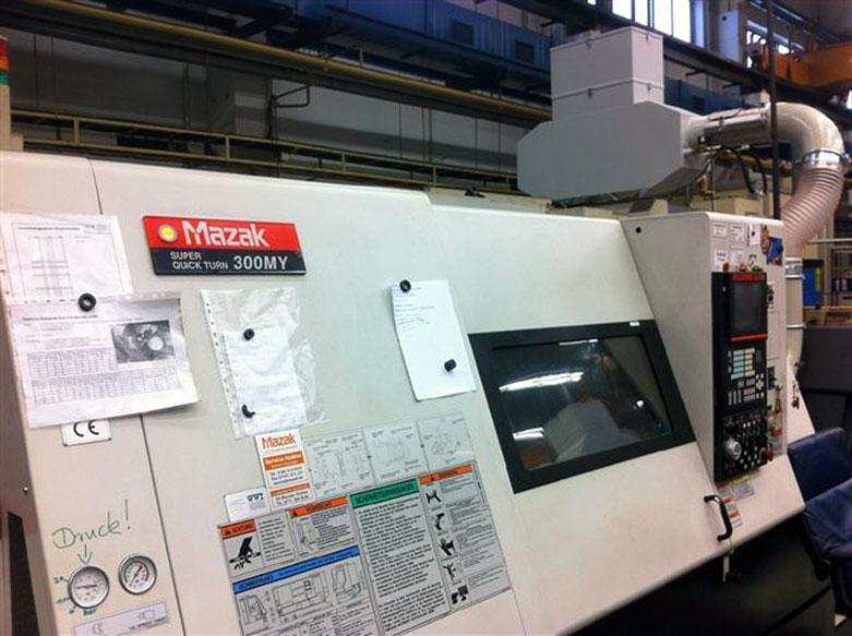 Filtrare vapori ulei strung CNC Mazak