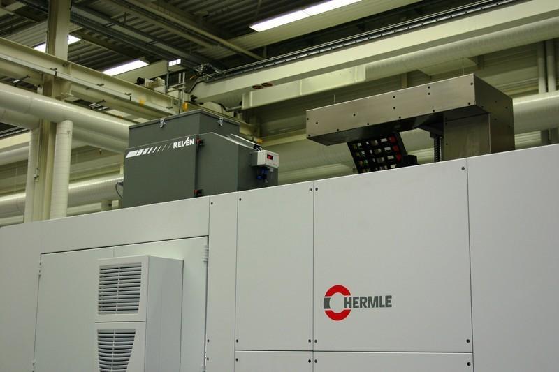 Filtrare vapori ulei masini unelte CNC Hermle