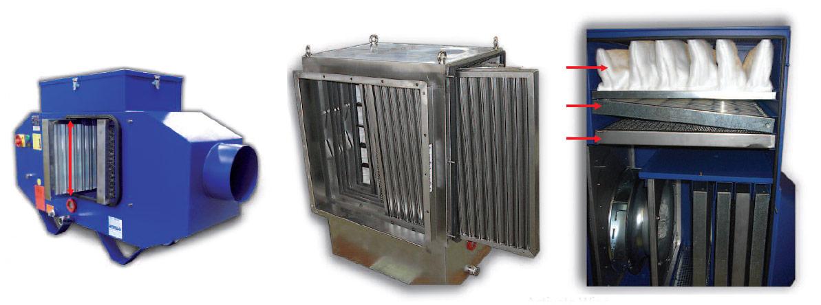 Separator vapori ulei emulsii X-CYCLONE