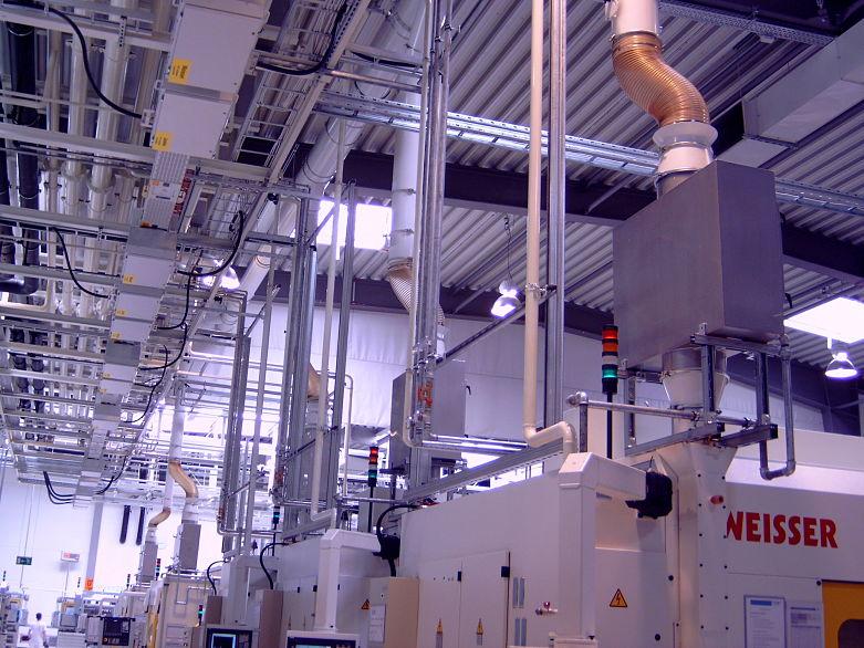 Studiu de caz VW Germania sistem centralizat filtrare vapori ulei