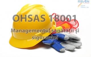 REVEN sustine certificarea OHSAS 18001