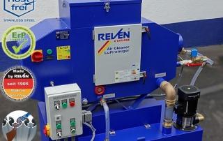 Sistem filtrare emulsie si ulei spalare interna