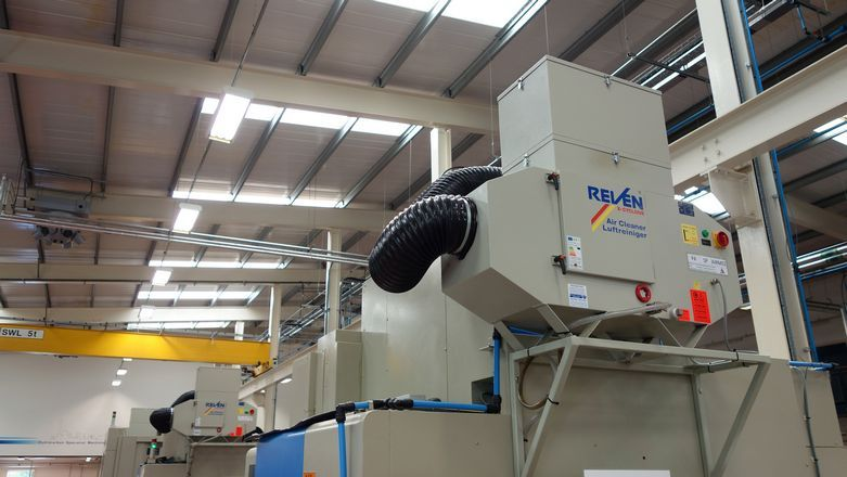 Suporti montaj echipamente filtrare vapori ulei REVEN