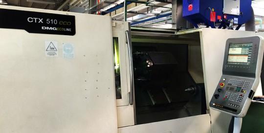 Filtrare vapori ulei strung CNC DMG 510 Ecoline