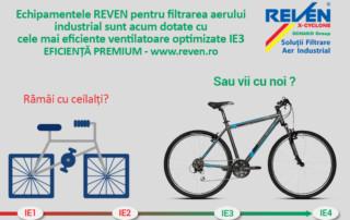Motoare eficiente IE3 filtrare aer industrial