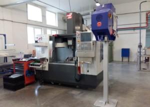 Filtrare vapori ulei freza CNC Haas VF 1