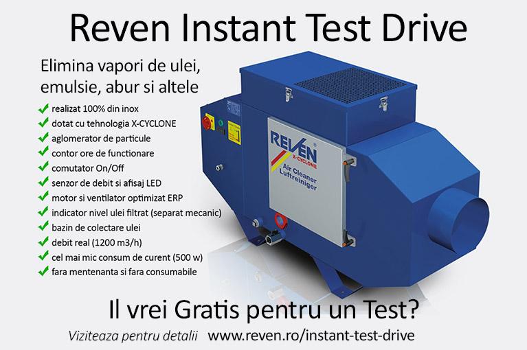 Reven Instant Test Drive