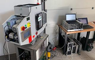 Echipament filtrare vapori ulei cu masurare particule
