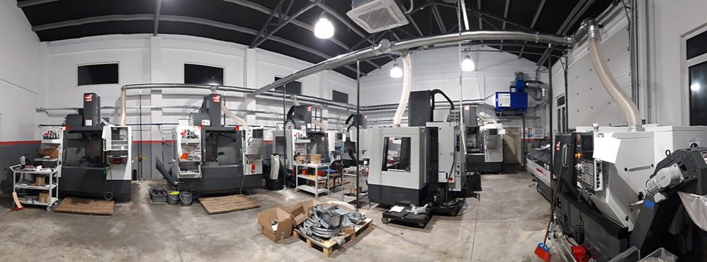 Sistem centralizat filtrare ceata ulei freze CNC