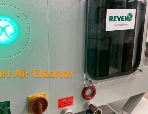 Separatoarele de ceață de ulei REVEN pentru mașini unelte CNC devin inteligente și digitale!
